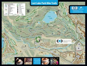 Lost Lake Mountain Bike Trails